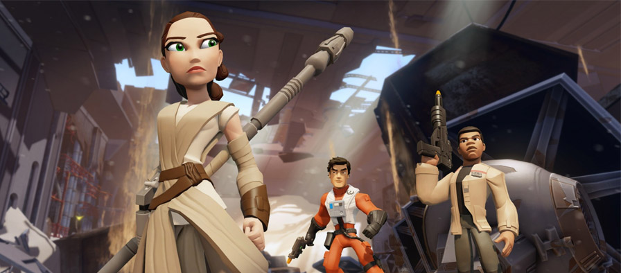 Star Wars: The Force Awakens Play Set (Disney Infinity 3.0)