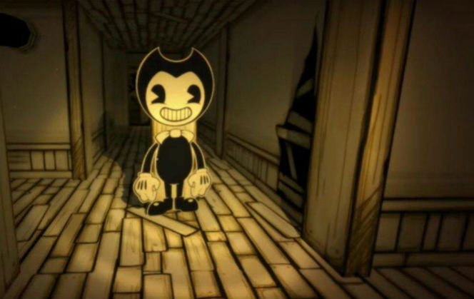 these bendy and the ink machine figures are creepy yet cute