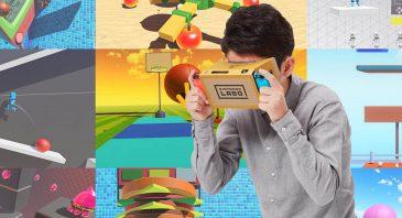 Nintendo Labo VR Starter Kit + Blaster