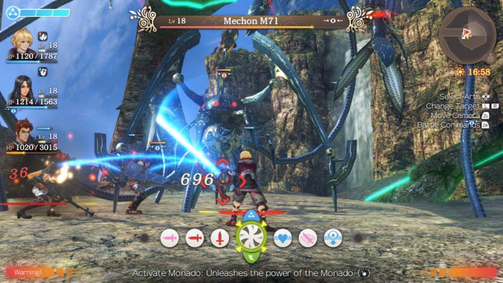 Xenoblade Chronicles - Deep in Combat