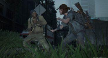 Taking on enemies in The Last of Us Part II is visceral