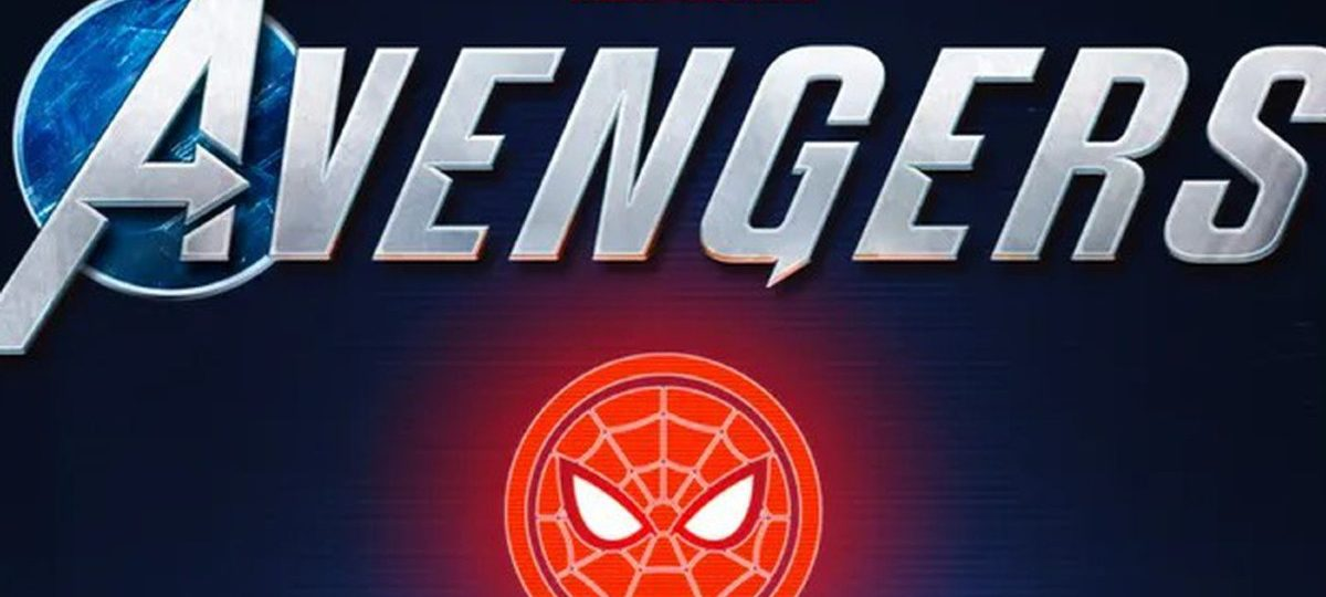 A logo showing the Marvel logo, The Avengers logo and the Spider-Man logo