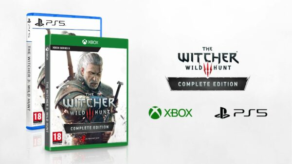 The Witcher 3: The Wild Hunt avalable on PC, Series X and PlayStation 5