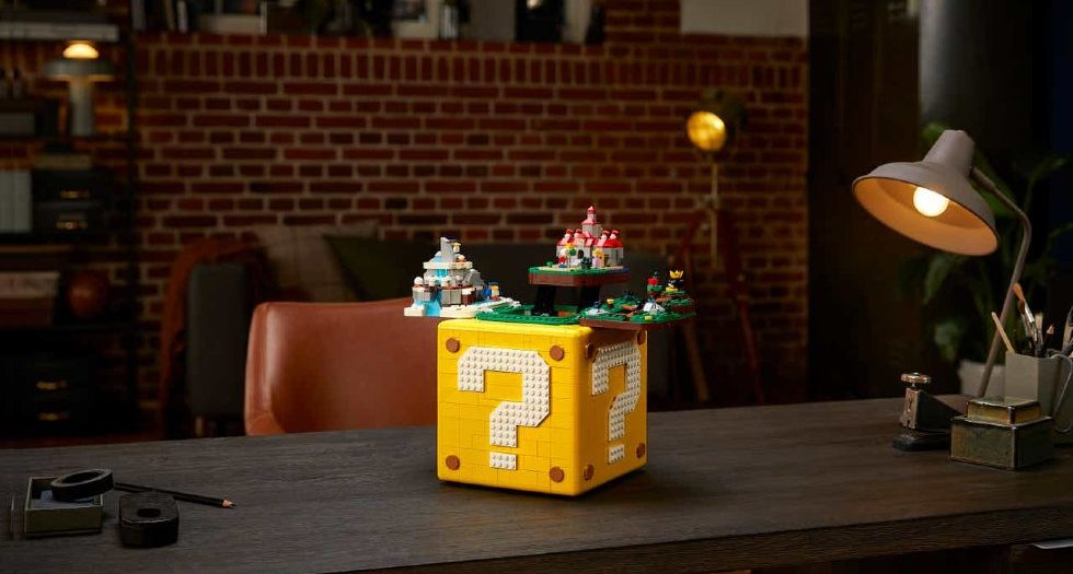 Lego Super Mario Question Block