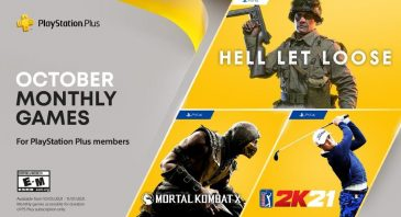 PlayStation Plus lineup October 21